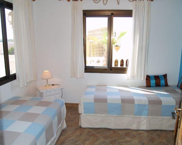 Villa Kinderschlafzimmer Surfcamp La Pared Fuerteventura