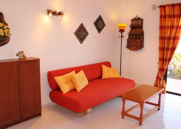 Apartment Wohnraum Surfcamp La Pared Fuerteventura