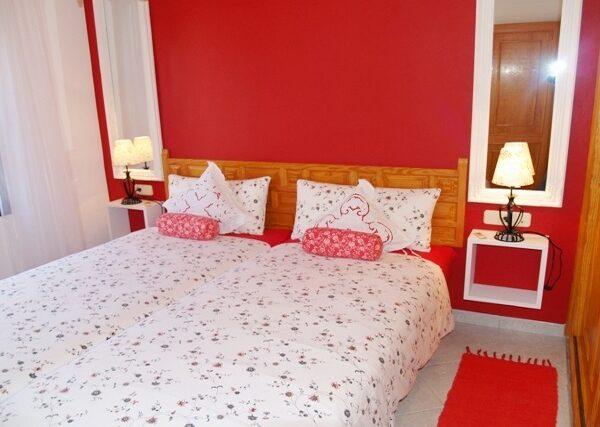 Apartment Schlafzimmer Surfcamp La Pared Fuerteventura