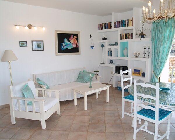Villa Wohnzimmer Surfcamp La Pared Fuerteventura