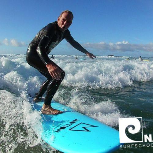 Surfkurs Fuerteventura, La Pared, Nalusurf