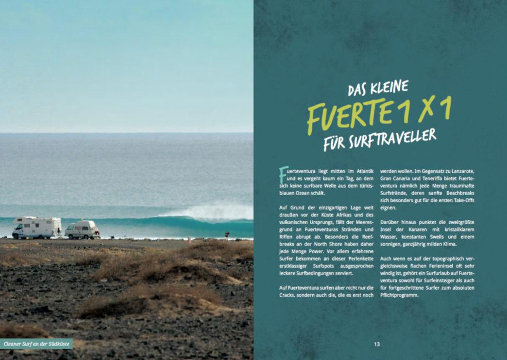 Surfguide Fuerteventura - Kleines 1x1