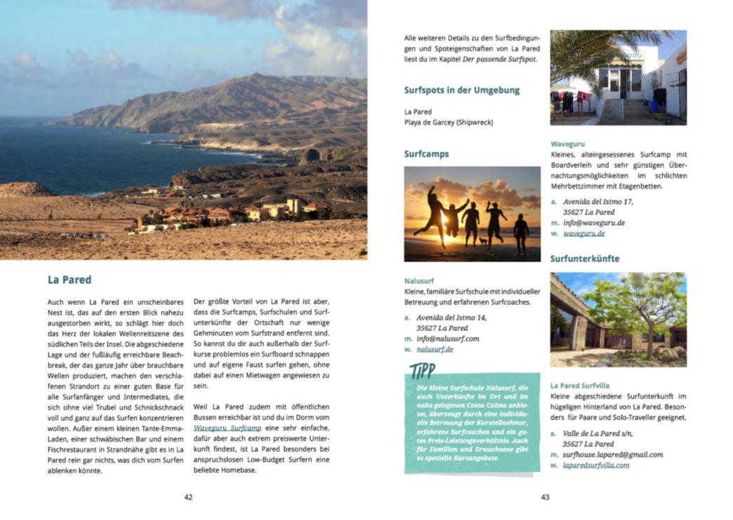 Surfguide Fuerteventura - La Pared Infos - Nalusurf Fuerteventura
